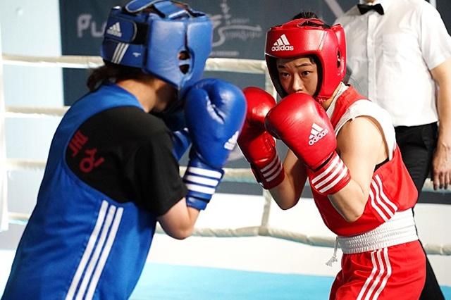 '파이터'는 여성 스포츠 선수와 복싱을 주제로 한다. /인디스토리 제공
