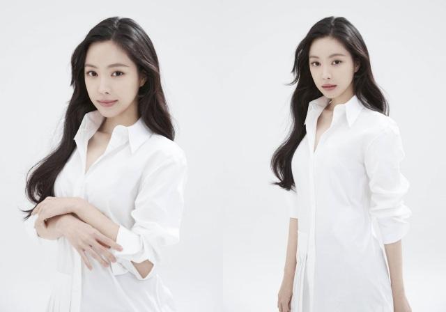 그룹 에이핑크 손나은이 YG엔터테인먼트와 전속계약을 체결하며 새 프로필 사진을 공개했다. /mok studio 제공