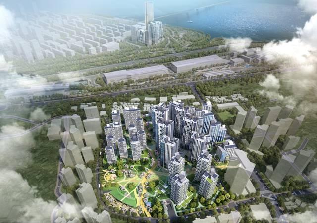 노량진1 재정비촉진구역 재개발 건축심의가 통과돼 2992호의 주택이 공급될 예정이다. 사진은 아파트 단지 조감도. /서울시 제공