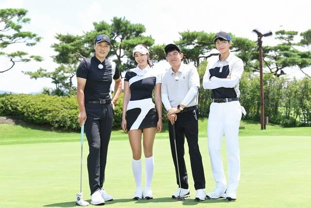 '편먹고 공치리(072)'는 프로그램 제목처럼 개인이 아닌 팀으로 골프를 즐기며 골프의 색다른 재미를 선사할 전망이다. /SBS 제공