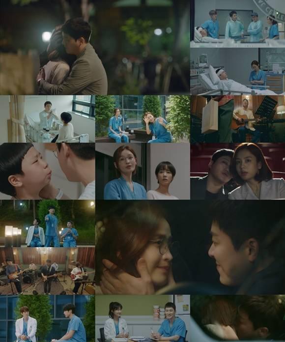 9일 방송된 tvN '슬기로운 의사생활 시즌2'가 설렘과 공감이 가득한 이야기로 자체 최고 시청률을 기록했다. /방송화면 캡처