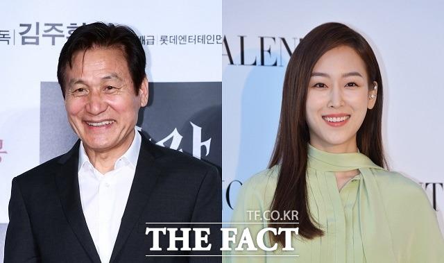 안성기 서현진이 신연식 감독 영화 '카시오페아'에서 부녀 호흡을 맞출 예정이다. /더팩트 DB