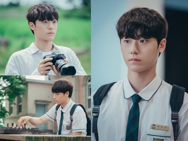 tvN 수목드라마 '멜랑꼴리아' 백승유로 변신한 이도현의 스틸컷이 첫 공개됐다. /tvN 제공