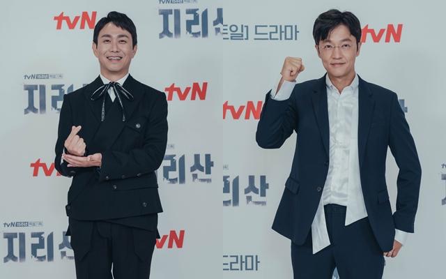 오정세(왼쪽)과 조한철은 '지리산'으로 '열일 행보'를 이어나간다. /tvN 제공